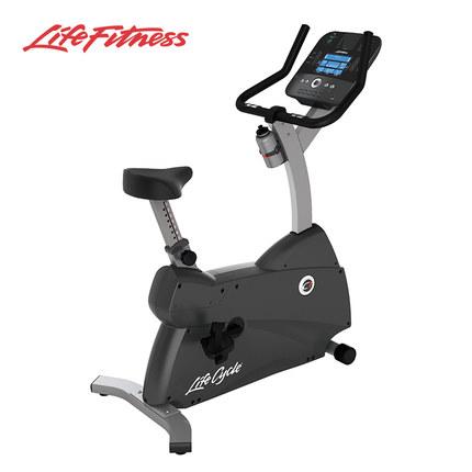 力健旗舰店LifeFitness进口直立式家用必威体育登录app器材室内必威体育登录app自行车C1