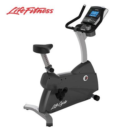 力健LifeFitness进口直立必威体育登录app车家用磁控室内踏板自行车C3