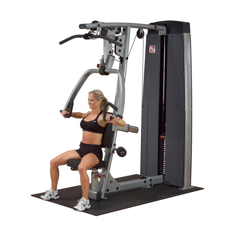 美国body-solid高拉/推胸双能练习器    DPLS SF