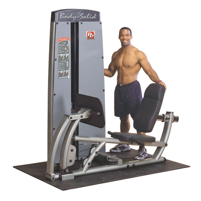 美国body-solid 腿伸展/蹬腿双能练习器  DCLP SF