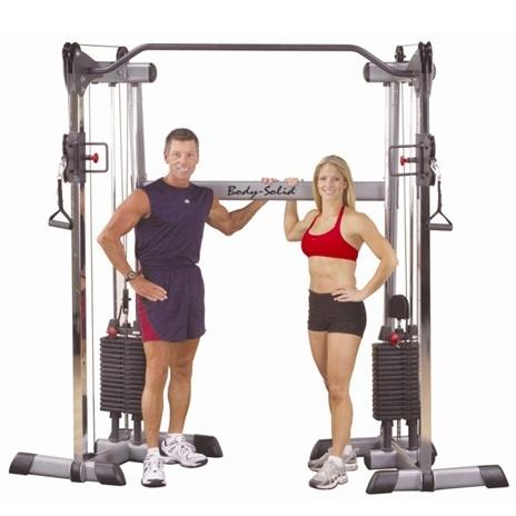 美国body-solid多功能双臂练习器   GDCC200