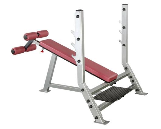 美国body-solid奥林匹克下斜椅  SDB-351G