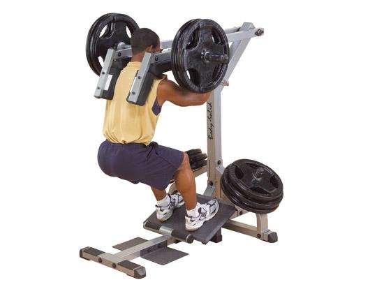 美国body-solid杠杆下蹲小腿机   GSCL360