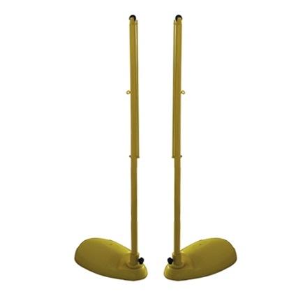 羽毛球网柱
