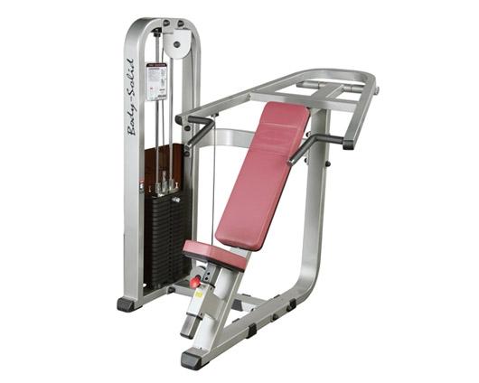 美国body-solid上斜推胸训练器   SIP-1400G